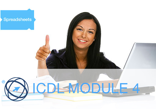 EXAM SIMULATION ICDL MODULE 4 | SPREADSHEETS